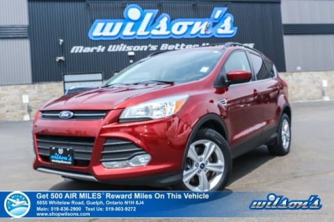 Certified Pre-Owned 2015 Ford Escape SE 2.0L 4WD - NEW TIRES! Power Seat, Heated Seats, Rear Camera, Bluetooth, Alloys