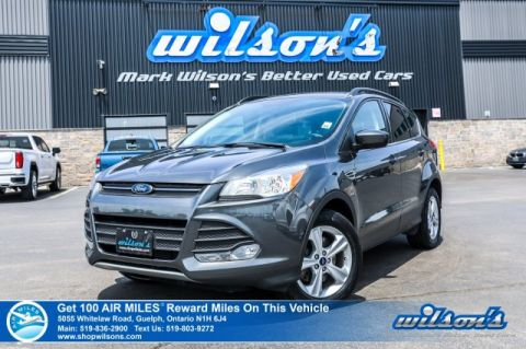 Certified Pre-Owned 2015 Ford Escape SE 4WD - Leather, Rear Camera, Bluetooth, Power Seat, Heated Seats, Alloy Wheels and more!