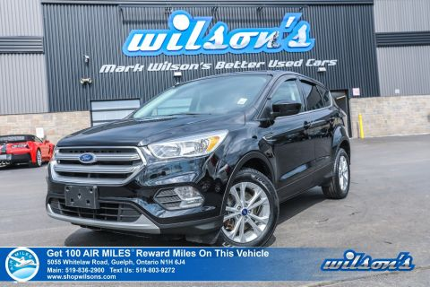 Certified Pre-Owned 2017 Ford Escape SE AWD - NEW TIRES! Bluetooth, Rear Camera, Cruise Control, Alloys, Power Package and more!