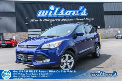 Certified Pre-Owned 2015 Ford Escape SE 4WD - Navigation, Bluetooth, Rear Camera, Power Seat, Heated Seats, Alloy Wheels and more!