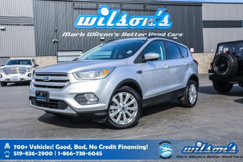 Certified Pre-Owned 2019 Ford Escape SEL 4WD, Sunroof, Leather, Rear Camera, Power Liftgate, Bluetooth, Heated Seats & more