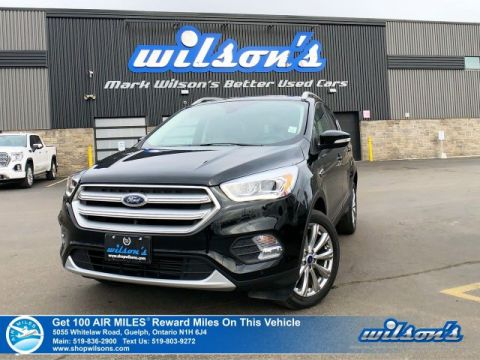 Certified Pre-Owned 2018 Ford Escape Titanium AWD - Leather, Navigation, Sunroof, Heated / Power Seats, Bluetooth, Rear Camera