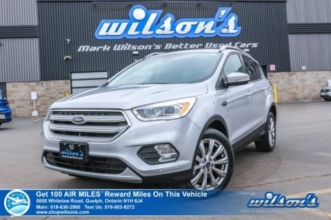 Certified Pre-Owned 2018 Ford Escape Titanium 4x4 - NEW TIRES! Leather, Sunroof, Navigation, Bluetooth, Park Assist, Power Lift Gate!