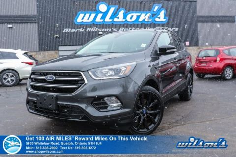 Certified Pre-Owned 2018 Ford Escape Titanium AWD Sport Appearance - Leather Trim, Navigation, Sunroof, Rear Camera, Bluetooth