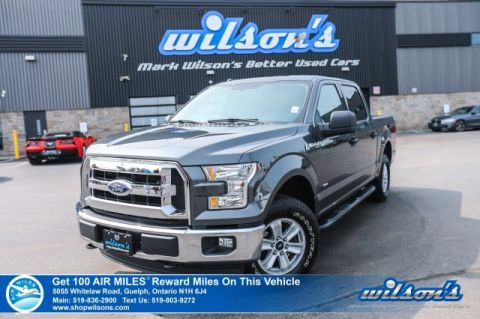 Certified Pre-Owned 2016 Ford F-150 XLT SuperCrew 4x4, Side Steps, Bluetooth, Alloy Wheels and more!