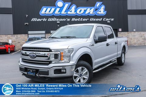 Certified Pre-Owned 2019 Ford F-150 XLT Crew Cab 5.0 V8 Used – Rear Camera, Bluetooth, Tow Package, Bedliner, Cruise Control, and more!