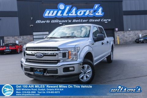 Certified Pre-Owned 2019 Ford F-150 XLT Crew Cab 5.0 V8 – Rear Camera, Bluetooth, Trailer Package, Bedliner, Cruise Control, and more!