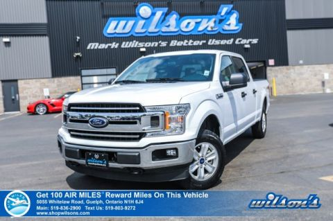 Certified Pre-Owned 2019 Ford F-150 XLT Crew Cab 5.0 V8 – Rear Camera, Bluetooth, Trailer Package, Power Seat and more!
