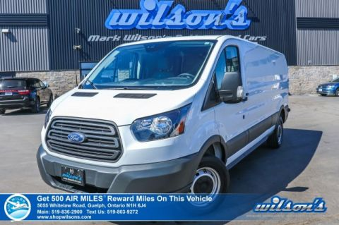 "Certified Pre-Owned 2017 Ford Transit Cargo Van T-250 Low Roof Extended 3.5L 148"" WB - Cruise Control, Power Mirrors"