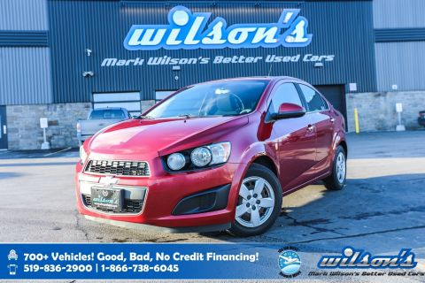 Certified Pre-Owned 2012 Chevrolet Sonic LT, Value Price Vehicle! Bluetooth, Heated Mirrors, Driver Information Center & Much More!