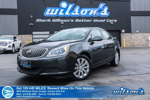 Certified Pre-Owned 2015 Buick Verano - Rear Camera, Bluetooth, Cruise Control, Alloys, Power Package and more!