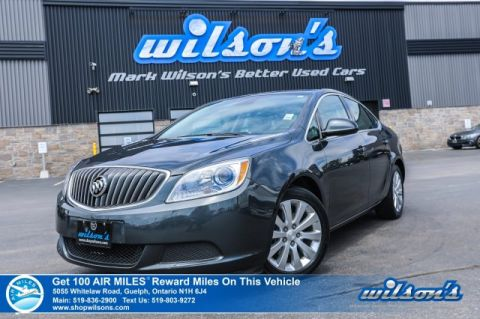 Certified Pre-Owned 2015 Buick Verano 2.4L Heated Seats, Remote Start, Rear Camera, Bluetooth, Power Seat, Alloy Wheels and more!