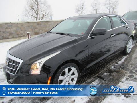 Certified Pre-Owned 2015 Cadillac ATS Sedan AWD, Brembo Brakes! Sunroof, New Tires, Rear Camera, Heated Seats, Remote Start, Bose Audio and more