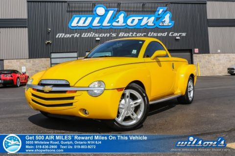 Certified Pre-Owned 2004 Chevrolet SSR Convertible - HOT RIDE FOR SUMMER!! Leather, Heated Seats, Bose Sound, Alloys