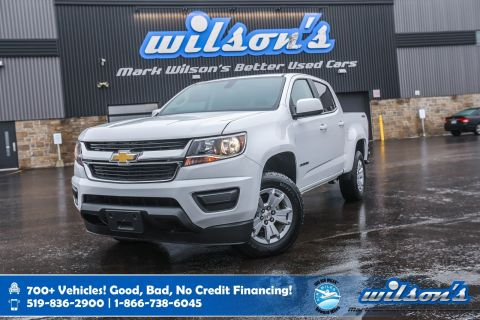 "Certified Pre-Owned 2019 Chevrolet Colorado LT V6 4x4, Bluetooth, Rear Camera, 8"" Touchscreen, Apple CarPlay + Android Auto, Alloys and more!"