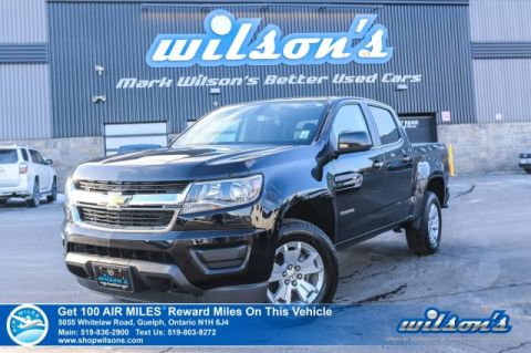 "Certified Pre-Owned 2019 Chevrolet Colorado LT 4x4 V6 Crew - Rear Camera, Bluetooth, SiriusXM Capable, 17"" Alloy Wheels, Power Group and more!"