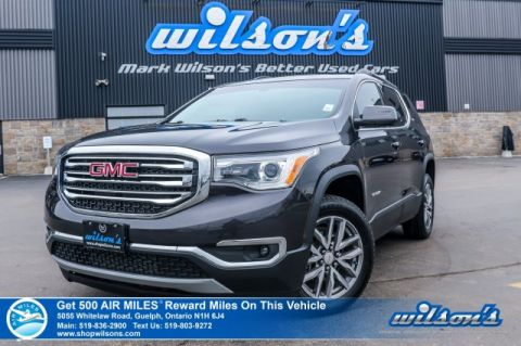 Certified Pre-Owned 2017 GMC Acadia SLE-2 V6 7 Passenger, Rear Camera, Bluetooth, Power Lift Gate, Woodgrain Interior Package