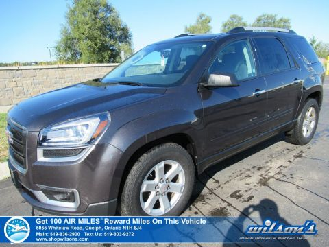 Certified Pre-Owned 2016 GMC Acadia SLE-2 AWD with Sunroof, Rear Camera, Power Liftgate, Park Assist, Bluetooth and more!
