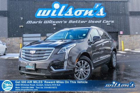 Certified Pre-Owned 2018 Cadillac XT5 Luxury AWD - Leather, Ultraview Roof, Rear Camera, Bose Audio, Heated Steering & Seats