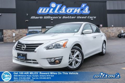 Certified Pre-Owned 2014 Nissan Altima 2.5 SV - Sunroof, Rear Camera, Bluetooth, Alloys, Cruise Control and more!