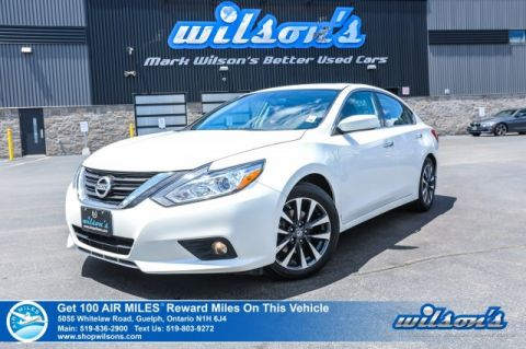 Certified Pre-Owned 2016 Nissan Altima SV Navigation, Sunroof, Bluetooth, Rear Camera, Power Seat, Heated Seats, Alloy Wheels and more!