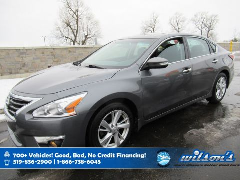Certified Pre-Owned 2015 Nissan Altima 2.5 SL, Navigation, Leather, Sunroof, Heated Seats + Steering, Bluetooth, Rear Camera and more!