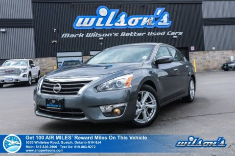 Certified Pre-Owned 2014 Nissan Altima 2.5 SV - Navigation, Sunroof, Rear Camera, Bluetooth, Heated + Power Seats, Alloys and more!