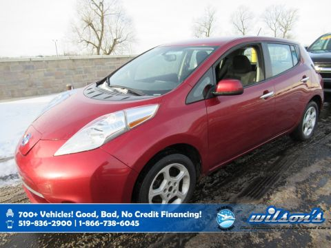 Certified Pre-Owned 2015 Nissan LEAF SV Electric! Navigation, Heated Seats + Steering, Rear Camera, Bluetooth, Alloy Wheels and more!