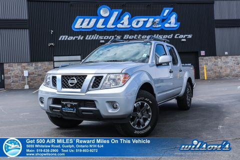Certified Pre-Owned 2019 Nissan Frontier PRO-4X Crew Cab 4x4 Used, Navigation, Sunroof, Heated Seats, Bluetooth with Text Message Assist