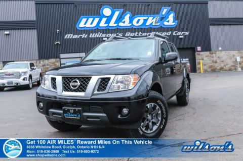 Certified Pre-Owned 2019 Nissan Frontier PRO-4X Crew Cab 4x4 - Navigation, Sunroof, Heated Seats, Bluetooth with Text Message Assist