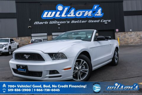 Certified Pre-Owned 2014 Ford Mustang Premium Convertible! Cruise Control, Steering Radio Controls, Power Group & More!