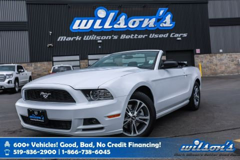 Certified Pre-Owned 2014 Ford Mustang V6 Premium Convertible Keyless Entry, Power Package, Alloys & More!