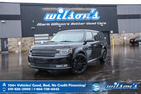 Certified Pre-Owned 2018 Ford Flex Limited AWD, Navigation, Leather, Vista Roof, Appearance Package, Power Seat, Heated Seats and more!