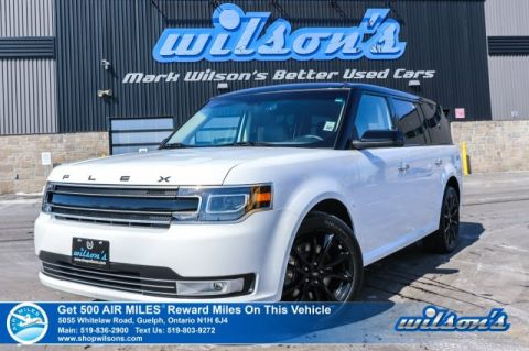 "Certified Pre-Owned 2019 Ford Flex Limited AWD - Leather, Sunroof, Navigation, 20"" Alloys, Apple Car Play, Rear Camera, Bluetooth,"