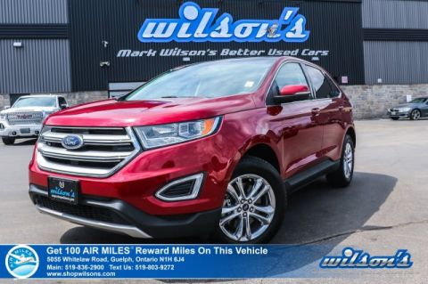 Certified Pre-Owned 2018 Ford Edge SEL AWD - Leather, Navigation, Sunroof, Remote Start, Heated Seats, Rear Camera, Bluetooth & More!