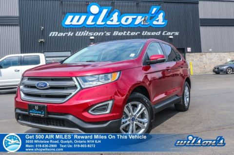 Certified Pre-Owned 2018 Ford Edge SEL AWD Leather, Navigation, Sunroof, Remote Start, Heated Seats, Rear Camera, Bluetooth and more!