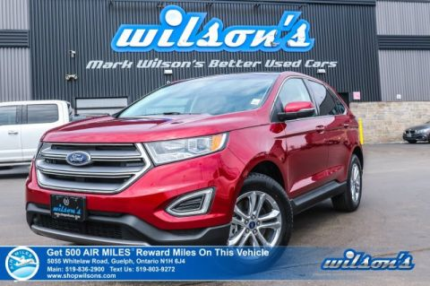 Certified Pre-Owned 2018 Ford Edge SEL AWD -Leather, Navigation, Sunroof, Remote Start, Heated Seats, Rear Camera, Bluetooth and more!