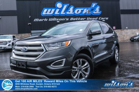 Certified Pre-Owned 2018 Ford Edge SEL AWD Leather, Navigation