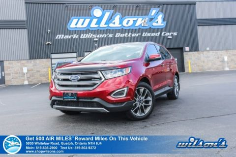 Certified Pre-Owned 2016 Ford Edge Titanium V6 AWD - Leather, Navigation, Sunroof, Heated Seats, Bluetooth, Rear Camera, Alloy