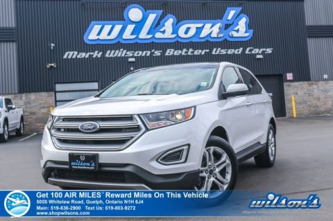 Certified Pre-Owned 2018 Ford Edge Titanium AWD - Leather, Navigation, Panoramic Sunroof, Heated + Cooled Seats, Heated Rear Seats