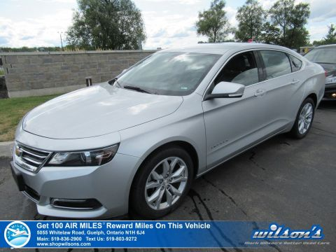 Certified Pre-Owned 2018 Chevrolet Impala LT Used - Power Seat, Remote Start, Rear Camera, Bluetooth, Alloy Wheels and more!