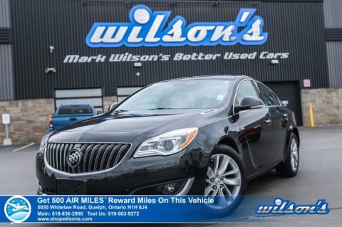 Certified Pre-Owned 2014 Buick Regal Premium 1 Turbo AWD - Leather, Navigation, Rear Camera, Bluetooth, Heated Seats, and lots more!