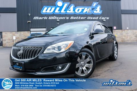 Certified Pre-Owned 2016 Buick Regal Premium AWD - Sunroof, Leather, Navigation, Rear Camera, Bluetooth, Heated Steering & More!