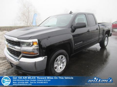 Certified Pre-Owned 2019 Chevrolet Silverado 1500 LT 4x4 5.3L Double Cab - Rear Camera, Bluetooth, EZ Lift Tailgate, Tow Pkg, Apple Car Play