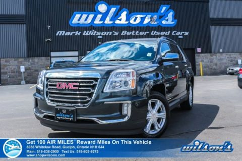 Certified Pre-Owned 2017 GMC Terrain SLE-2 AWD, Remote Start, Blind Spot Monitor, IntelliLink, Heated Seats and more!