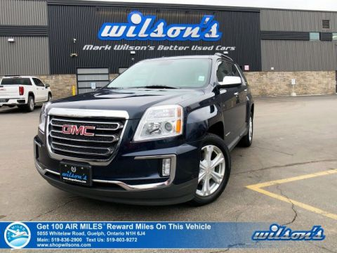 Certified Pre-Owned 2017 GMC Terrain SLE-2 AWD - Remote Start, Blind Spot & Rear Cross Traffic Alert, IntelliLink, Heated Seats and more!