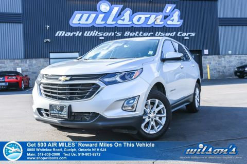 Certified Pre-Owned 2019 Chevrolet Equinox LT AWD Used - Rear Camera, Bluetooth, Apple CarPlay, Heated Seats & More!