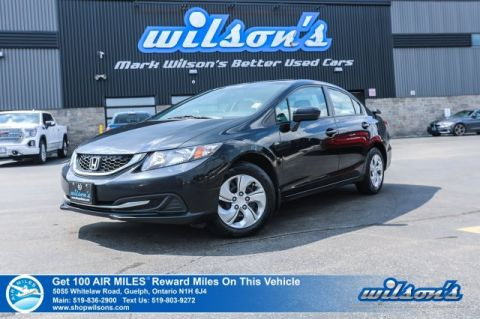 Certified Pre-Owned 2015 Honda Civic LX - NEW TIRES! Heated Seats, Bluetooth, Rear Camera, Rear Spoiler, and more!