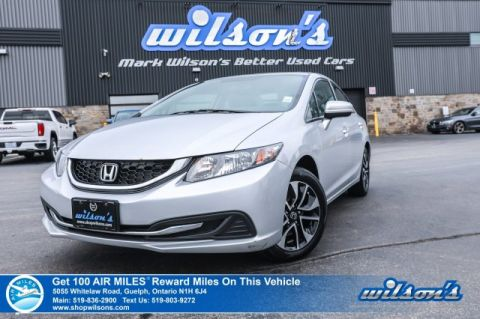 Certified Pre-Owned 2015 Honda Civic EX - NEW TIRES! Sunroof, Heated Seats, Bluetooth, Rear Camera, Alloy Wheels and more!