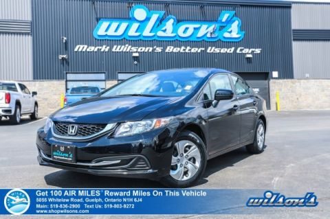 Certified Pre-Owned 2015 Honda Civic Sedan LX - NEW TIRES! Bluetooth, Rear Camera, Heated Seats, Keyless Entry, Power Group and more!